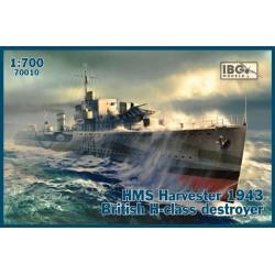 IBG70010 HMS Harvester'43 Brit. H-class1/700