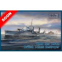 IBG70011 HMS IIEX 1942 Brit. I-Class 1/700