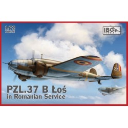 IBG72516 PZL 37 B Los II Romanian Serv. 1/72