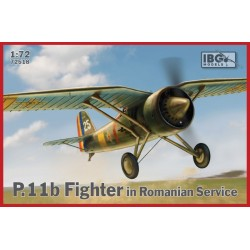 IBG72518 P11b Fighter in Romanian Serv. 1/72