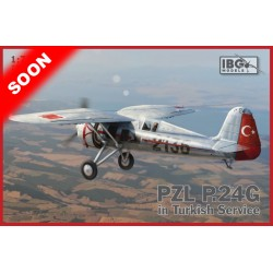 IBG72525 PZL P24G Turkish Service 1/72
