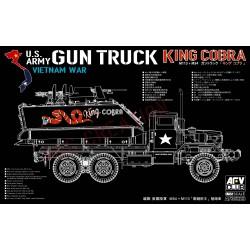 AF35323 M113+M54A2 GUN TRUCK 1/35