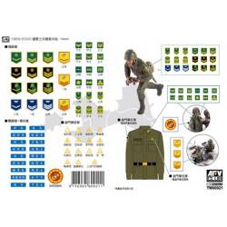 AFTW60021 ROC Army'60-00 Mil.Armband Dec.1/35