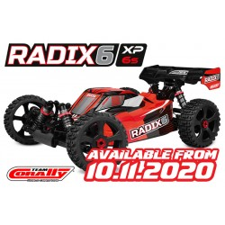 C-00185 TEAM CORALLY - RADIX XP 6S - MODEL 2021 - 1/8 BUGGY EP - RTR - BRUSHLESS POWER 6S - NO BATTERY - NO CHARGER