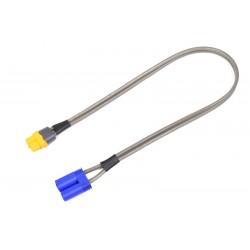 "GF-1205-016 Charge Lead Pro ""XT60"" - EC-5 Female - 40 cm - Flat silicone wire 14AWG"