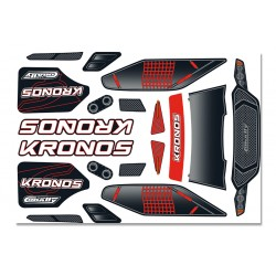 C-00180-380-1 Team Corally - Body Decal Sheet - Kronos XP 6S - 1 pc