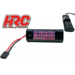 HRC01750T Accu - 7 Eléments - HRC Power Batteries 5000 - NiMH - 8.4V 5000mAh - Hump Stick - Prise TRX