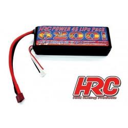 HRC06462D Accu - LiPo 4S - 14.8V 6200mAh 60C - Ultra T - 35x44x135mm