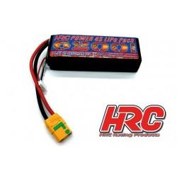HRC06462X Accu - LiPo 4S - 14.8V 6200mAh 60C - XT90 - 35x44x135mm