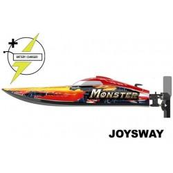 JOY8654 Bateau de course - électrique - RTR - Monster - BRUSHLESS - 2.4G - avec 11.1V 2200mAh 35C LiPo & AC Balance Charger