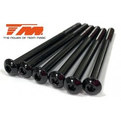 TM123550BU Vis - tête ronde - M3.5 x 50mm (6 pces)