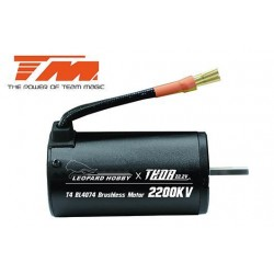 TM191024 Moteur Brushless - THOR Leopard T4 4074 - 22.2V - 2200KV (axe 5mm)