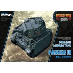 WWT-005 German Medium Tank Panzer III(Cartoon