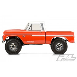 PL3483-00 Carrosserie - 1/10 Crawler - Transparente - 1966 Chevrolet C-10 (Cab & Bed) - pour 12.3'' (313mm) Crawler