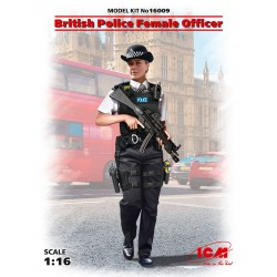 ICM16009 British Police Female Officer 1/16