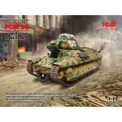 ICM35336 ICM WW I FCM36 French Light Tan1/35