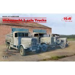 ICMDS3508 Werhmacht 3 axle Trucks 1/35