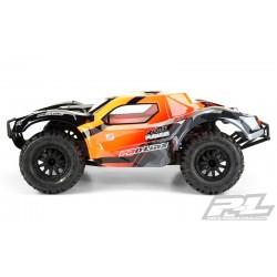 PL3498-17 Carrosserie - 1/10 Short Course - Transparente - Monster Fusion Pré-coupée - pour Slash 2wd & Slash 4x4 with 2.8'' MT