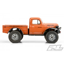 PL3499-00 Carrosserie - 1/10 Crawler - Transparente - 1946 Dodge Power Wagon - pour 12.3'' (313mm) Wheelbase Crawler