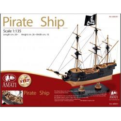 AMA60001 First Step Pirate Ship 1/135