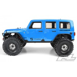 PL3502-00 Carrosserie - Monster Truck - Transparente - Jeep Wrangler Unlimited Rubicon - pour Traxxas TRX-4