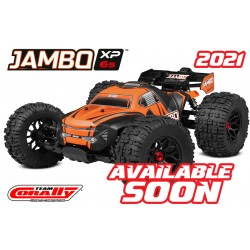 C-00166 Team Corally - JAMBO XP 6S - 1/8 Monster Truck SWB - RTR - Brushless Power 6S - Sans batterie - Sans chargeur