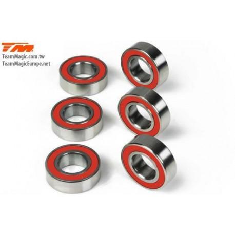 KF40816 Roulements à billes - métrique - 8x16x5mm - ZF Bearing (6 pces)