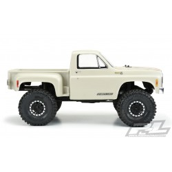 PL3522-00 Carrosserie - 1/10 Crawler - Transparente - Chevy 1978 K-10 (Cab & Bed) for 12.3 (313mm) Wheelbase Crawlers