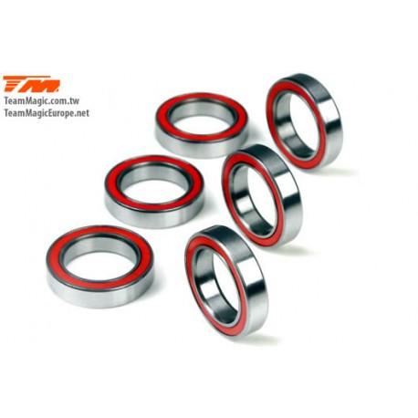 KF41218 Roulements à billes - métrique - 12x18x4mm - ZF Bearing (6 pces)