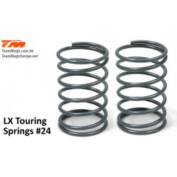 KF4901-24 Shocks Springs - LX Touring - 1.3mm x 6.5 coils - 13x23.5mm 24