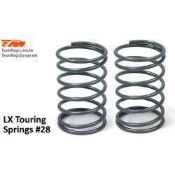KF4901-28 Shocks Springs - LX Touring - 1.5mm x 6 coils - 13x23.5mm 28
