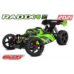 C-00186 Team Corally - RADIX 4 XP - 1/8 Buggy EP - RTR - Brushless Power 4S - No Battery - No Charger