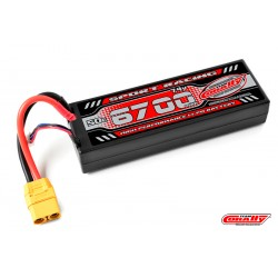 C-49405 Team Corally - Sport Racing 50C LiPo Battery - 4800mAh - 7.4V - Shorty 2S - 4mm Bullit
