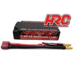 HRC02246SR5 Accu - LiHV 2S - 7.6V 4600mAh 110C - Graphene - Shorty - 4mm 95x45x22mm
