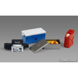 PL6040-00 Pièces de carrosserie - Accessoires 1/10 - Scale - Assortiment 1