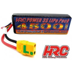 HRC06345XT90 Accu - LiPo 3S - 11.1V 4500mAh 40C - XT90AS - 25x42x138mm