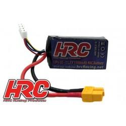 HRC08315X Accu - LiPo 3S - 11.1V 1500mAh 40C - XT60 - 70x35x23mm