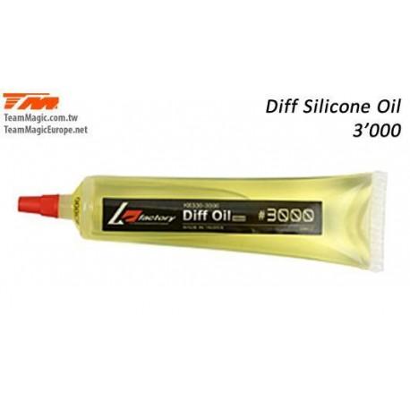 KF6330-1000 Huile Silicone de Différentiel - 40ml - K Factory - 1'000 cps
