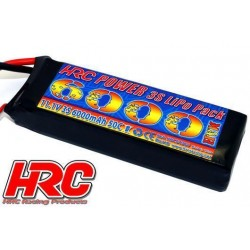 HRC04360T Accu - LiPo 3S - 11.1V 6000mAh 50C/100C - TRX