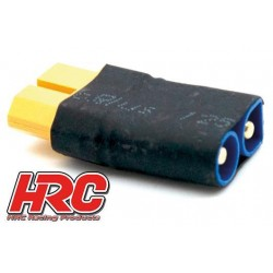 HRC9134F Adaptateur - Version Compacte - Prise XT60 Prise accu EC3