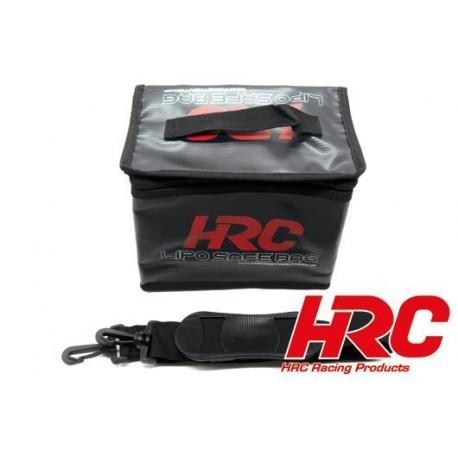 HRC9703L Sac de sécurité LiPo - TSW Pro Racing - Type rectangulaire – 60x75x185mm