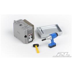 TM507152 Pièce détachée - E4RS II / EVO / JS II / E4RS III / PLUS - Sangle d'accu en Velcro