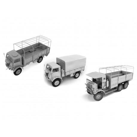 ICMDS3511 WWII British Trucks 1/35