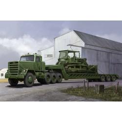 TRU01078 TRUMPETER M920 Tractor Tow M870A1 Trailer1/35