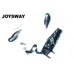 JOY81005 Spare Part - Rudder & Turn Fins