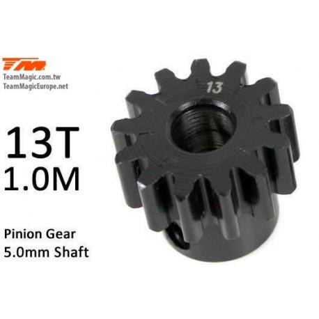 KF6602-13 Pignon - 1.0M / axe 5mm - Acier - 13D