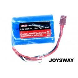 JOY82019 Battery - Li-Ion 2S - 7.4V 800mAh