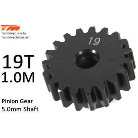 KF6602-19 Pignon - 1.0M / axe 5mm - Acier - 19D