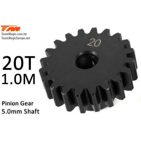 KF6602-20 Pignon - 1.0M / axe 5mm - Acier - 20D