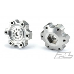 PL6337-00 Option Part - 6x30 to 12mm Aluminum Hex Adapters (Narrow) for Pro-Line 6x30 2.8'' Wheels